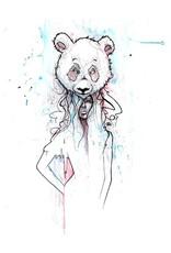 Jimmy Baptiste Affiche Fille Panda