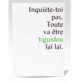 Masimto Tiguidou laï laï Carte