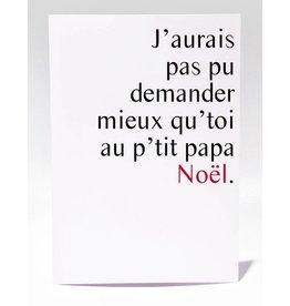 Masimto Au p'tit Papa Noël Carte