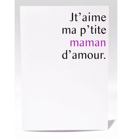Masimto P'tite Maman d'amour Carte