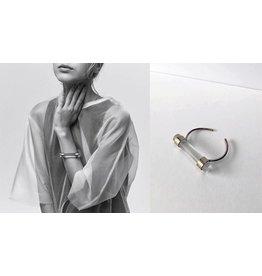 LLY Atelier Bracelet Cloud - Bronze et Acrylique
