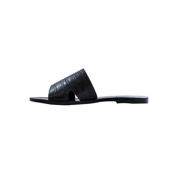 Cartel Sandales Abata - Noires
