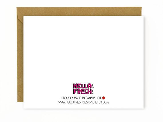 Hellafresh designs From the Belly Greeting Card - Girl