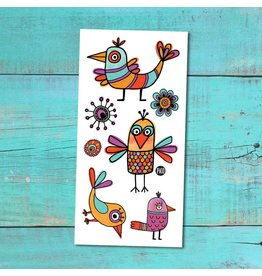 Pico tatoo Tatouages Temporaires - Les Rigolos Oiseaux