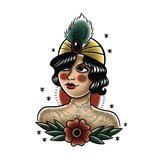 Les tatoués Tatoue Temporarie La Femme Tatouée