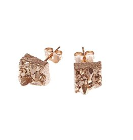 Noemiah Gold-plated Geo Earrings