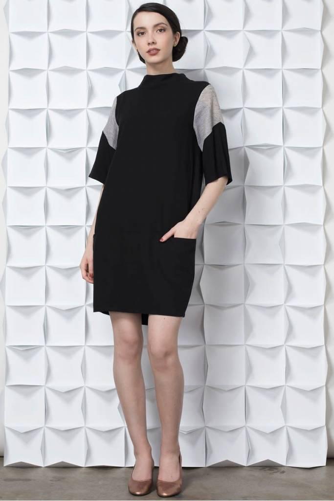 Jennifer Glasgow Robe Sayaru - Noir