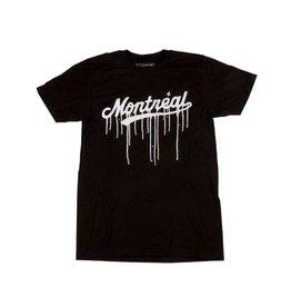 Art gang Montreal Leak T-shirt - Black