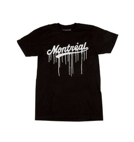 Art gang Montreal Leak T-shirt - Noir