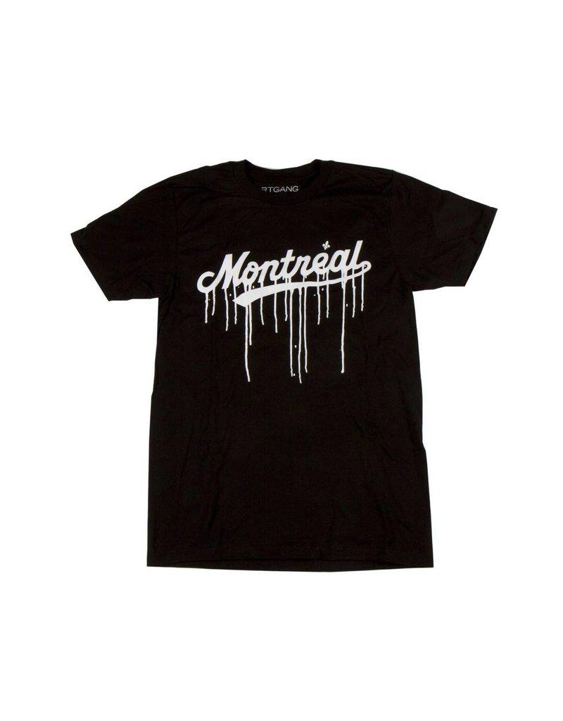 Art gang Montreal Leak T-shirt - Noir