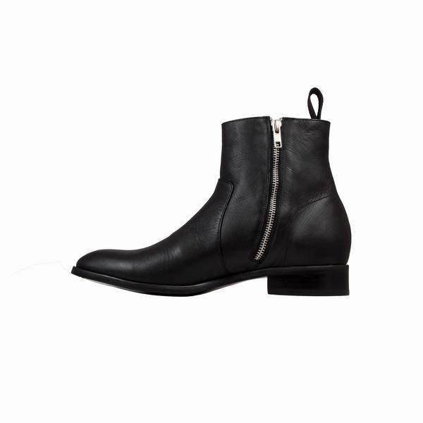 Cartel Pisco Boots - Black Leather