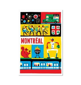 Paperole Montreal Summer Greeting Card