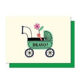 Paperole Bravo Greeting Card