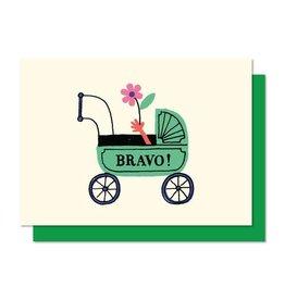 Paperole Mini Bravo Greeting Card