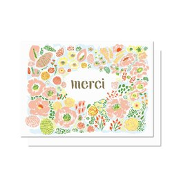 Paperole Carte Mini Fleurs