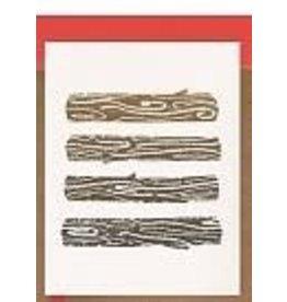 Darveelicious Carte des fetes Yule logs