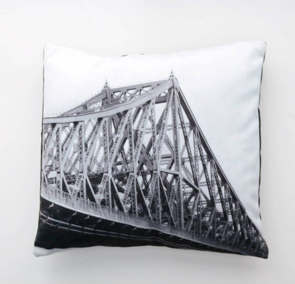 Fotofibre Fotofibre Jacques Cartier Bridge Cushion/Throw Pillow