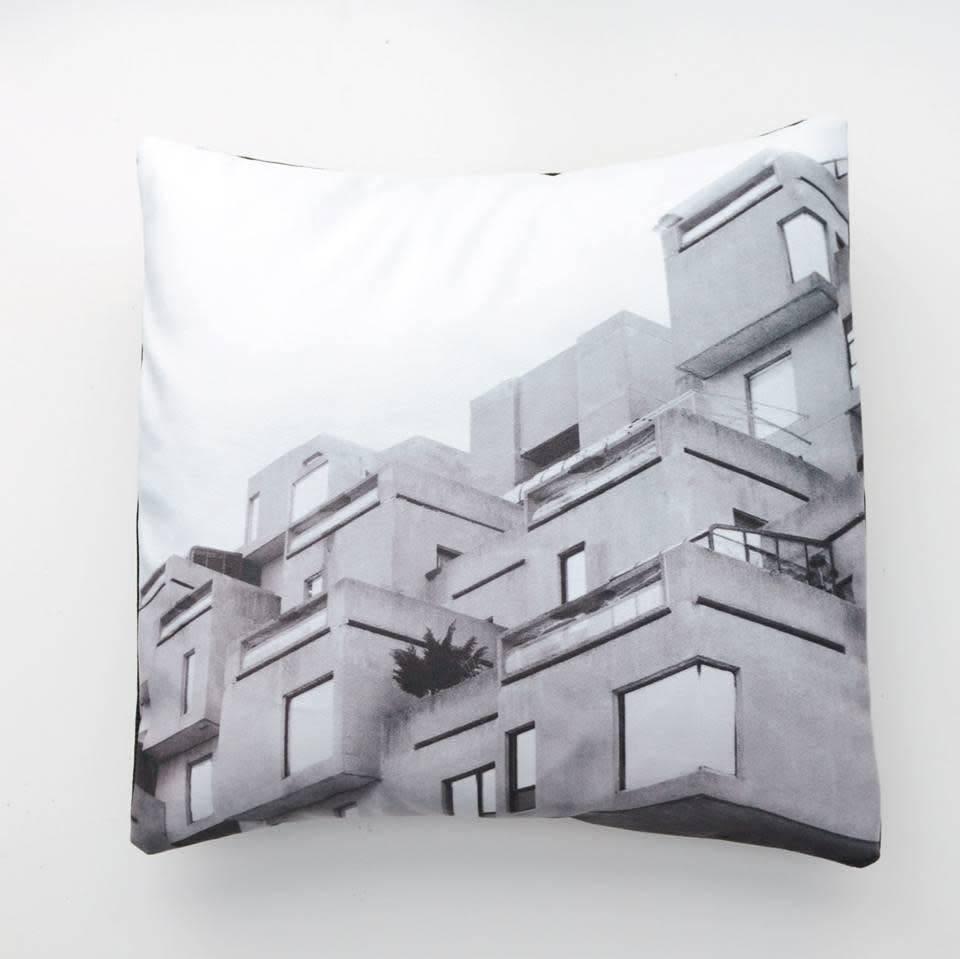 Fotofibre Fotofibre Habitat 67 Cushion/Throw Pillow