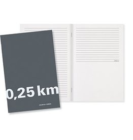 Couple d'idees 0.25 km Notebook - Grey
