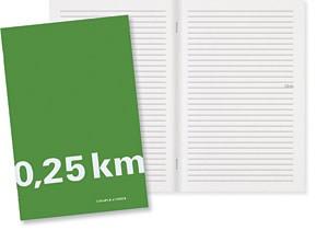 Couple d'idees Cahier 0,25 km - Vert