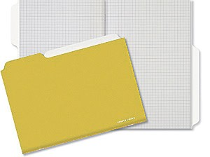 Couple d'idees Project Series: Ocre Notebook