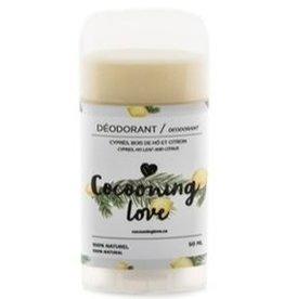 Cocooning love Déodorant - Cyprès, Citron, Bois de hô