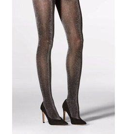 Mondor Lurex Tights -  Black