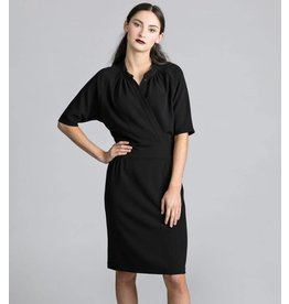 Allison Wonderland Robe Adore - Black