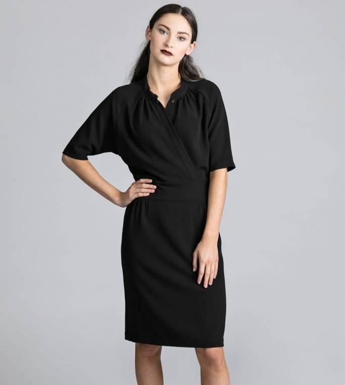 Allison Wonderland Robe Adore - Black
