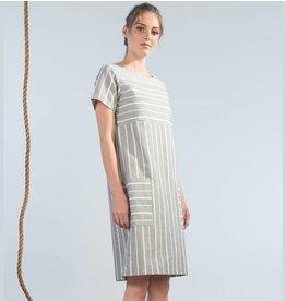 Jennifer Glasgow Ballast Dress - Paper Stripe