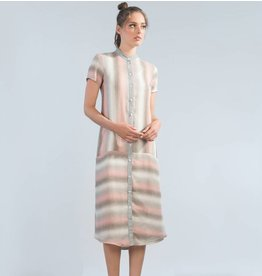 Jennifer Glasgow Regatta Dress - Pink Stripe