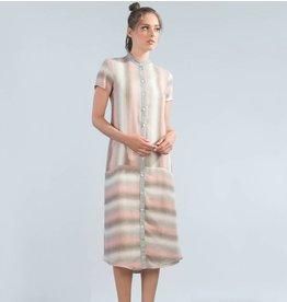 Jennifer Glasgow Regatta Dress - Pink Stripe