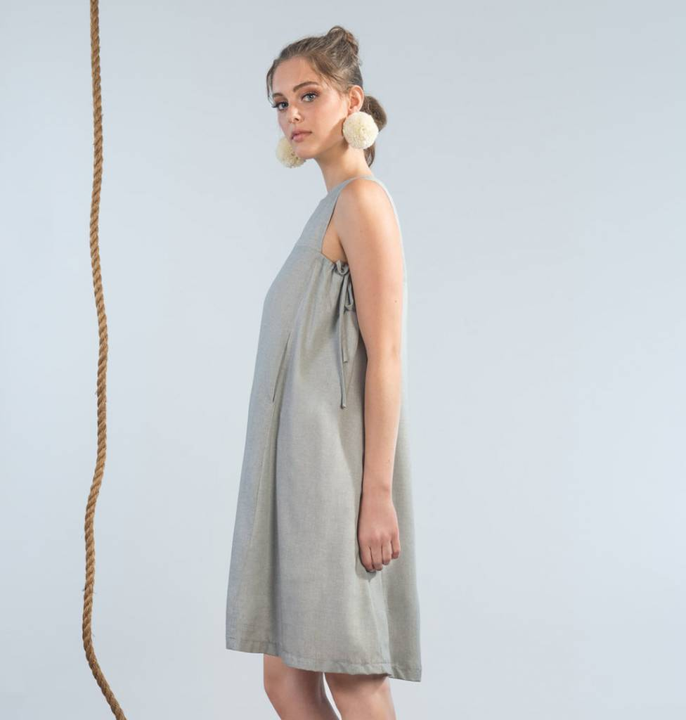 Jennifer Glasgow Moonraker Dress - Cloud