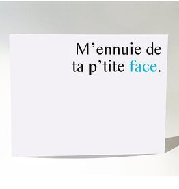 Masimto Carte Postale Aa P'tite Face