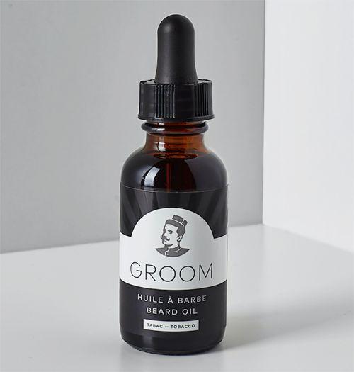 Groom Huile a Barbe -Tabac 30ml