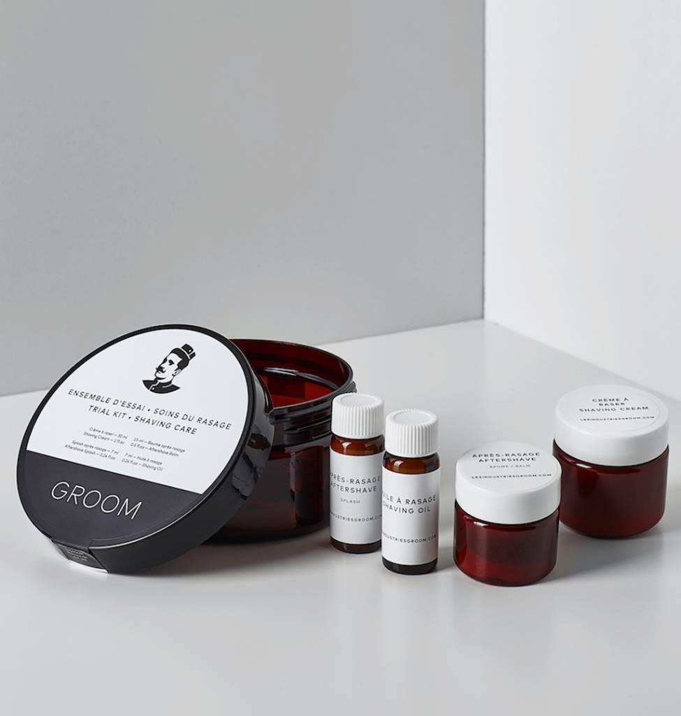 Groom Groom Shaving Care Trial Kit