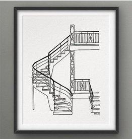 Darveelicious Affiche 8x10 Escaliers