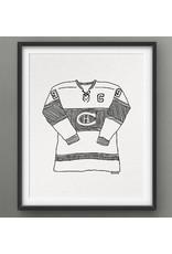 Darveelicious Darveelicious 5x7 Canadiens Print