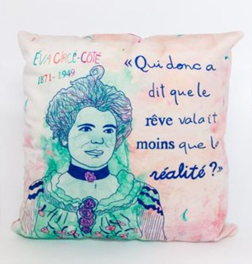 Fotofibre Feminist Cushion