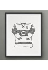 Darveelicious Darveelicious 8x10 Art Print - The Canadiens