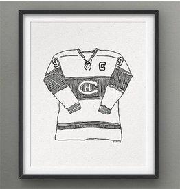 Darveelicious Les Canadiens Affiche 8x10