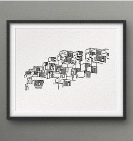 Darveelicious 8x10 Print - Habitat 67