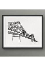 Darveelicious 5x7 Print - Jacques-Cartier Bridge