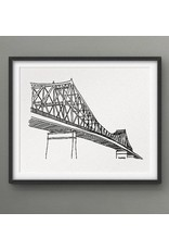 Darveelicious Darveelicious 5x7 Art Print - Jacques-Cartier Bridge