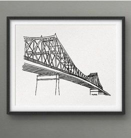 Darveelicious 8X10 Print - Jacques-Cartier Bridge