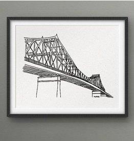 Darveelicious 8X10 Print - Jacques-Cartier Bridge