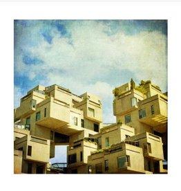 Monumentalove Small Print - Habitat 67