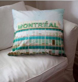 Monumentalove Large Airport Cushion Cover