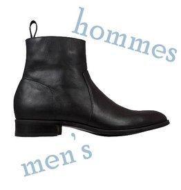 Pisco Boots - Black Leather