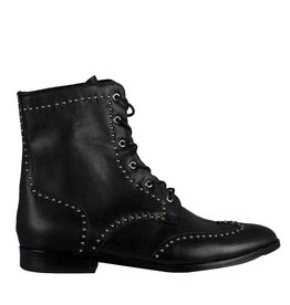 Colima Boots - Black Leather